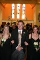 Mick & The Bridesmaids!