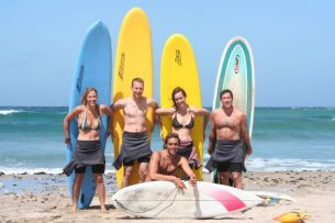 Sheldon & Surf Gang at Coffee Bay