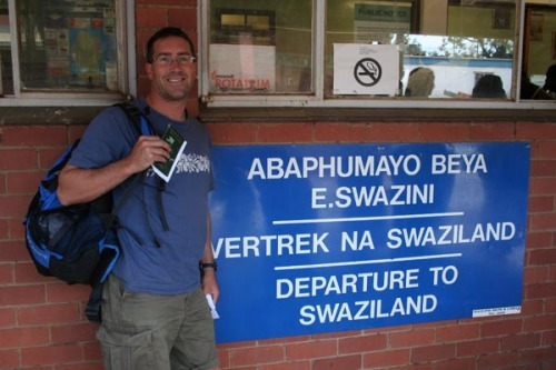 CDB at Swaziland border with S Africa