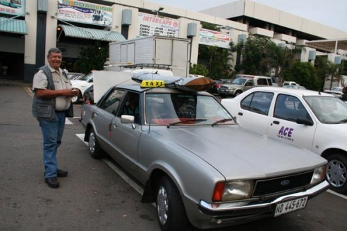1977 Ford Cortina Taxi in Durban
