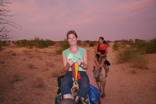 Jane on Camel