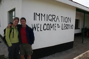 Immigration to Lesotho