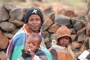 Lesotho Villagers
