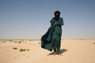 Tuareg on SandDune