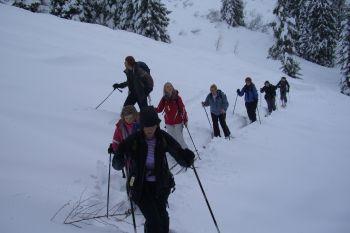 Skinning uphill
