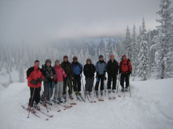 The gang at Lost Boys Pass
