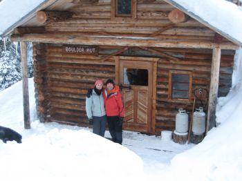 At Boulder Hut