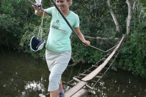 Rope Bridge at Barton Creek