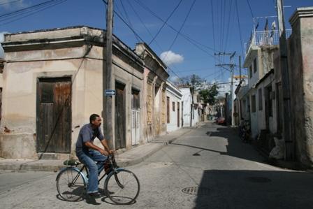 Santiago Street - no cars!