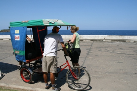Bicitaxi on Malecon