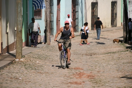 CDB on cobbles in Trinidad