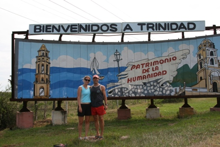 Entrance to Trinidad Town