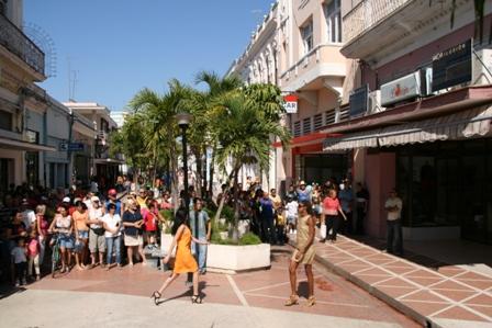 El Bulevar shopping street, Cienfuegos