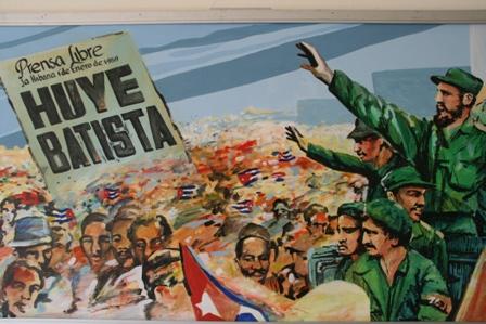 Anti-Batista poster