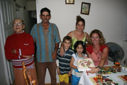 Jane´s Birthday in Vinales