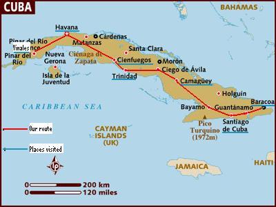 Cuba Map 1