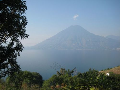 View of San Pedro Volcano from San Marcos