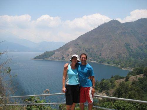At Lago Atitlan